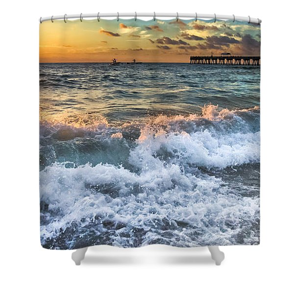 Sudsy Vertical IIi Shower Curtain