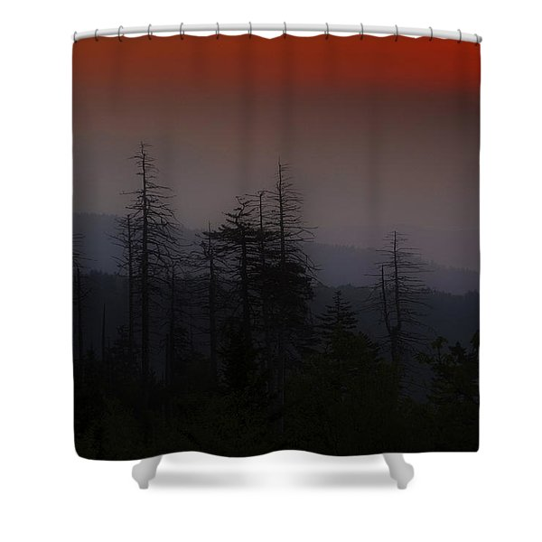 Sunrise From Clingman's Dome Shower Curtain