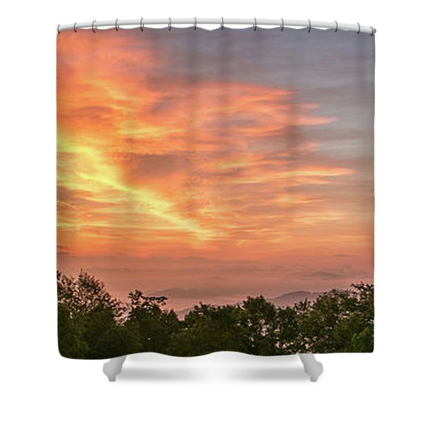 Shower Curtain featuring the photograph Sunrise July 22 2015 by D K Wall