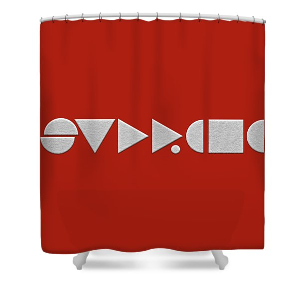 Supreme Being Embroidered Abstract - 2 Of 5 Shower Curtain