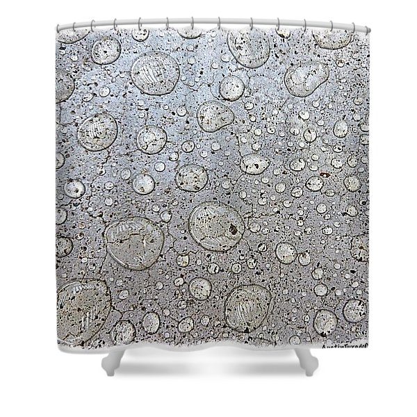 Surprise #thunder #storm This Morning Shower Curtain