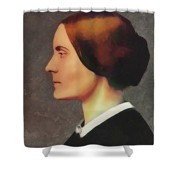 Susan B. Anthony, Suffragette Shower Curtain