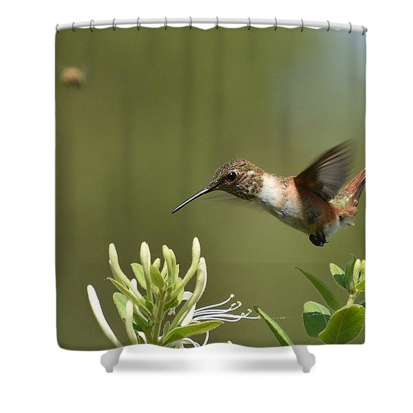 Suspended Animation Shower Curtain