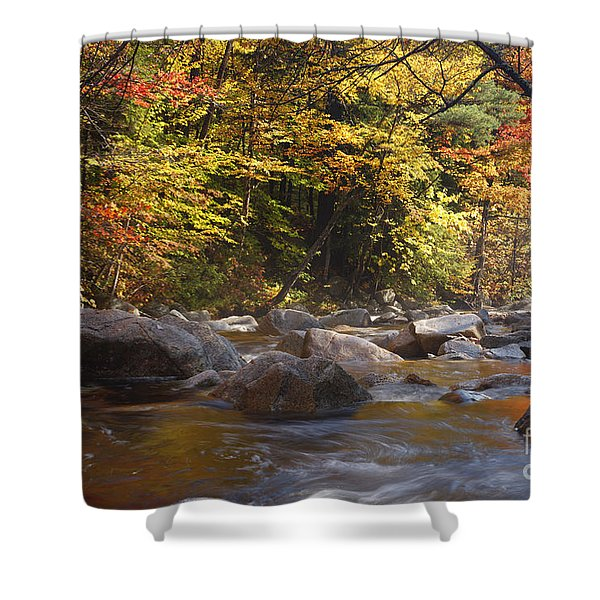 Shower Curtain featuring the photograph Swift River - White Mountains New Hampshire Usa by Erin Paul Donovan