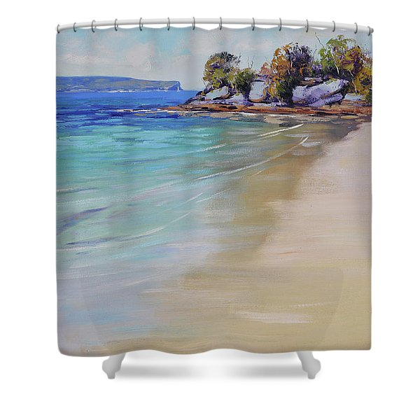 Sydney Harbour Beach Shower Curtain