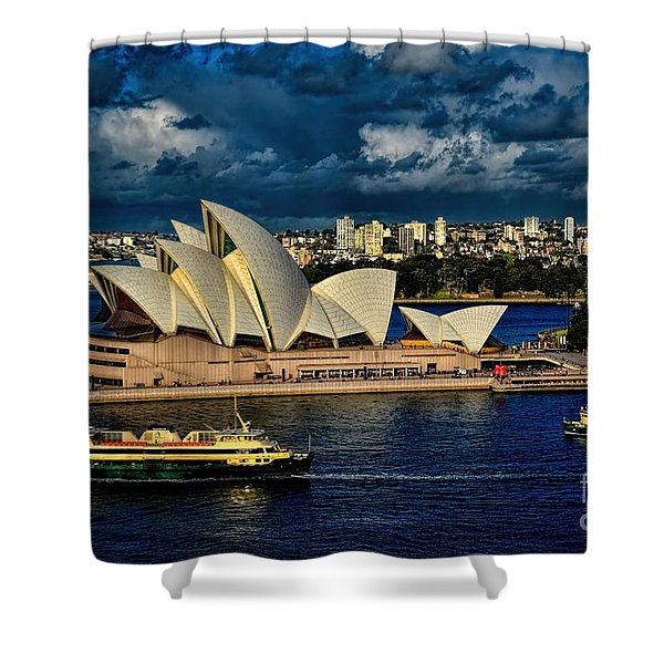 Sydney Opera House Australia Shower Curtain