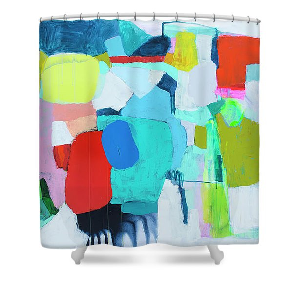 Take My Place Shower Curtain