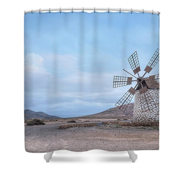 Tefia - Fuerteventura Shower Curtain
