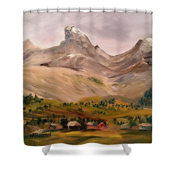 Tetons From The West Shower Curtain