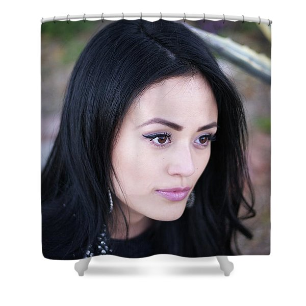 That Girl Ileen Shower Curtain