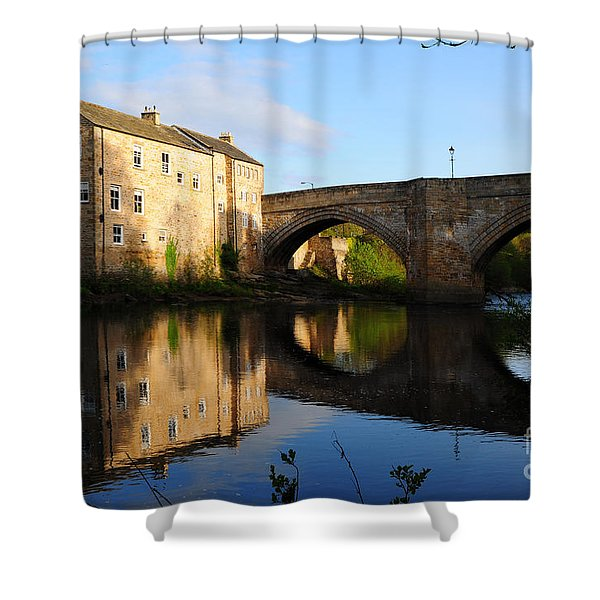 The County Bridge Shower Curtain