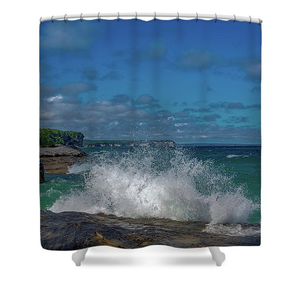 The Coves Shower Curtain