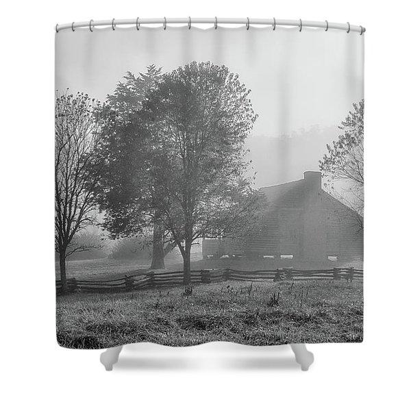 The Dan Lawson Place Shower Curtain