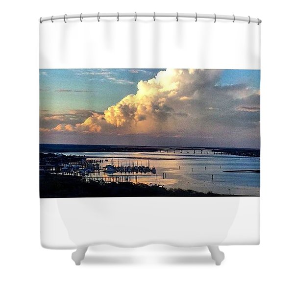 Jehovah's Creation Shower Curtain