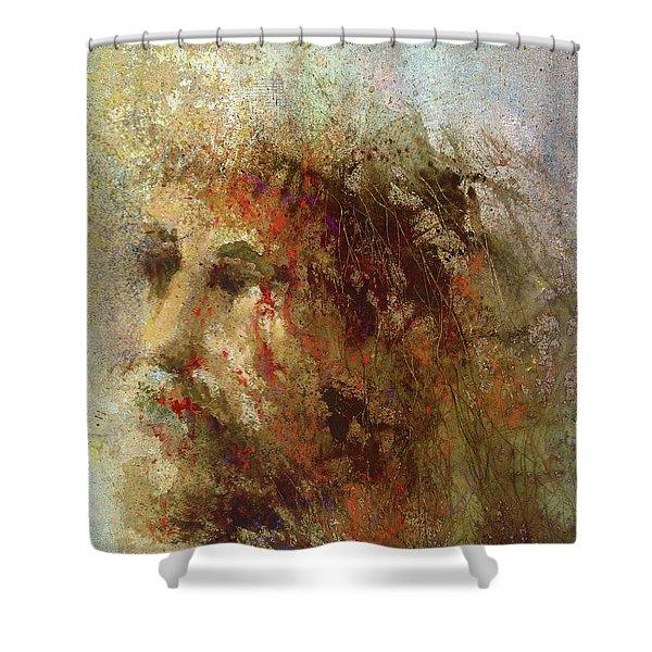The Lamb Shower Curtain