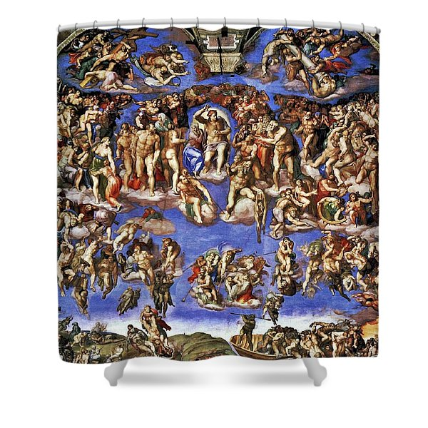 The Last Judgement Shower Curtain