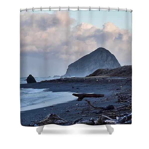 The Lost Coast Shower Curtain