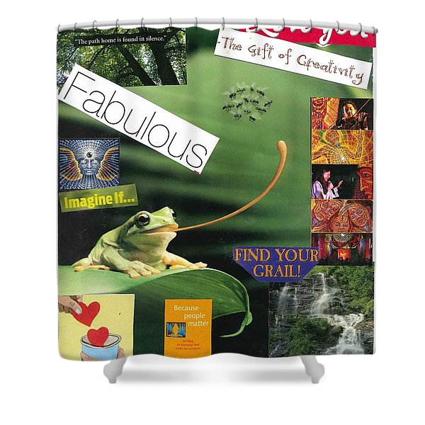 The Magic Of Life Shower Curtain