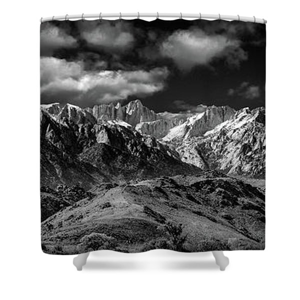 The Majestic Sierras Shower Curtain