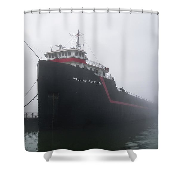 The Mather Shower Curtain