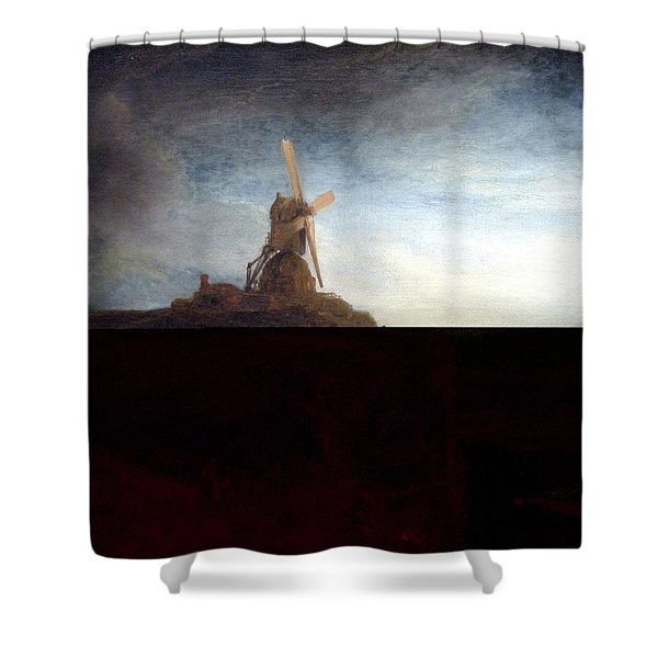 The Mill Shower Curtain