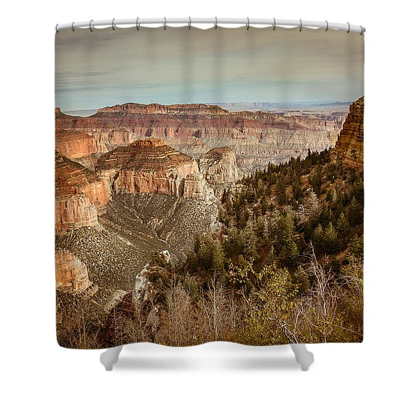 The North Rim Shower Curtain