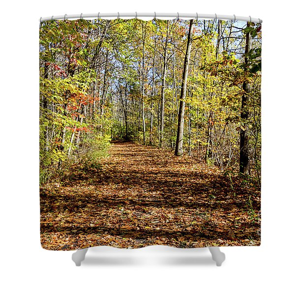 The Outlet Trail Shower Curtain