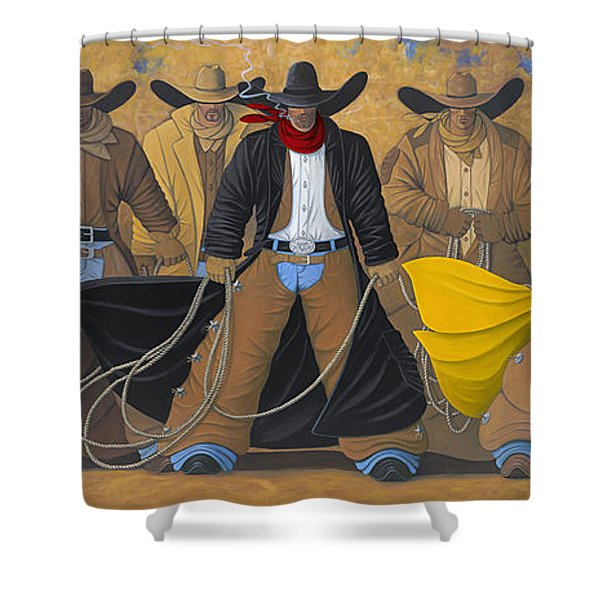 The Posse Shower Curtain