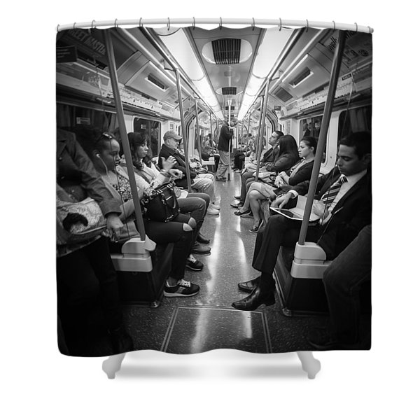 The Tube Shower Curtain