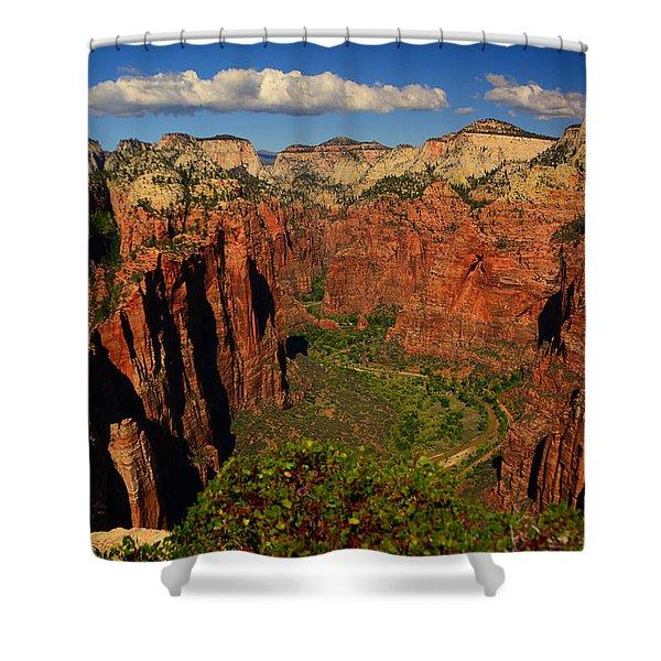 The Virgin River Shower Curtain