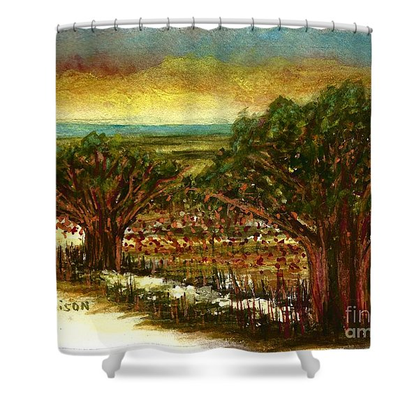 The Voices Of The Wind Shower Curtain