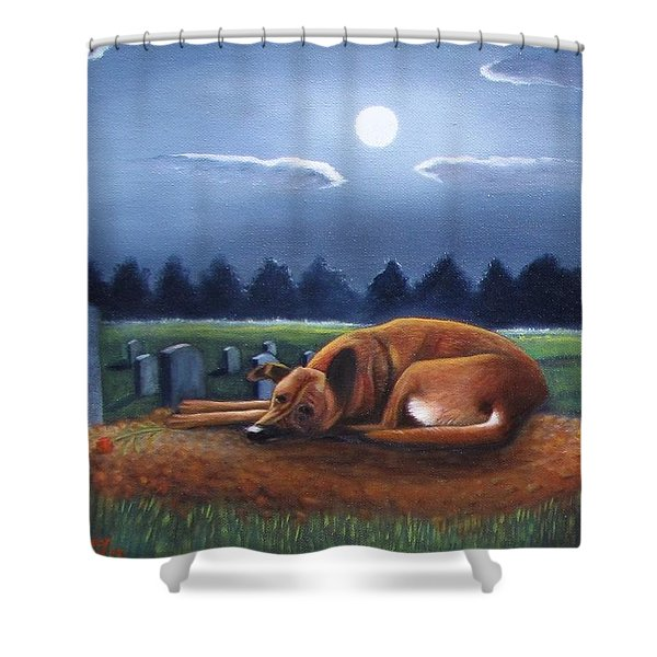 The Watchman Shower Curtain