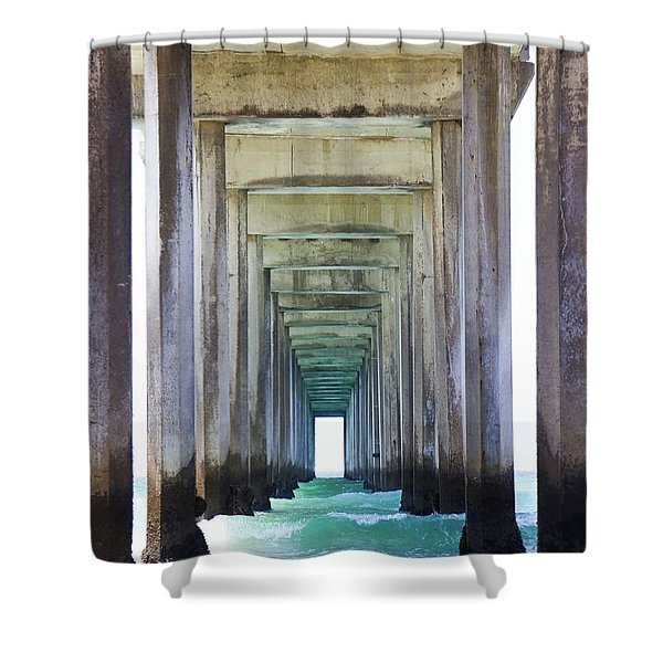 Thinking Outside Of The Box Shower Curtain