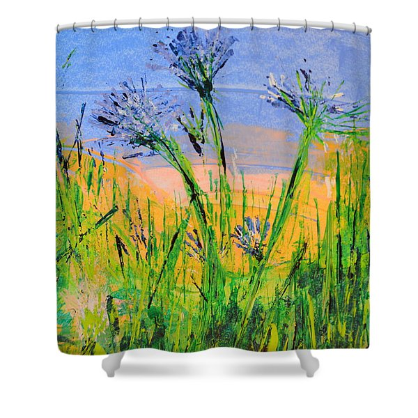 Thistles One Shower Curtain