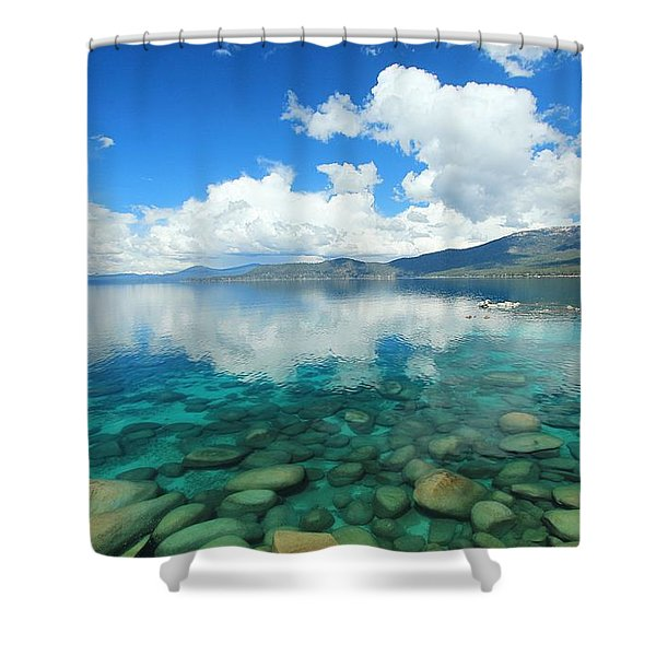 Shower Curtain featuring the photograph Thunderclouds by Sean Sarsfield