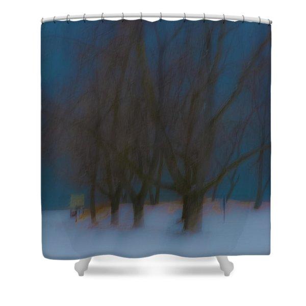 Tree Dreams Shower Curtain