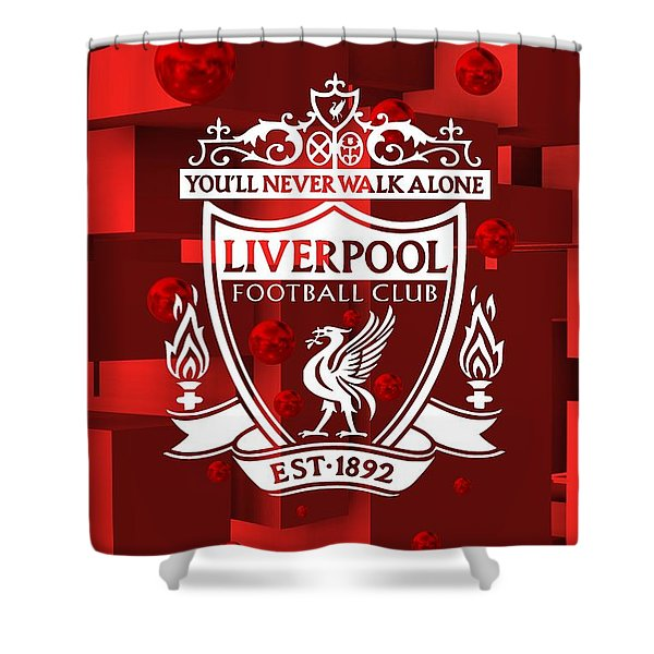 Tribute To Liverpool 3 Shower Curtain