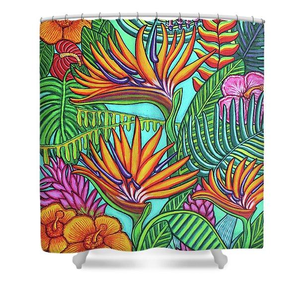 Tropical Gems Shower Curtain
