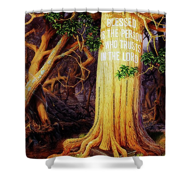 Trust In The Lord Shower Curtain