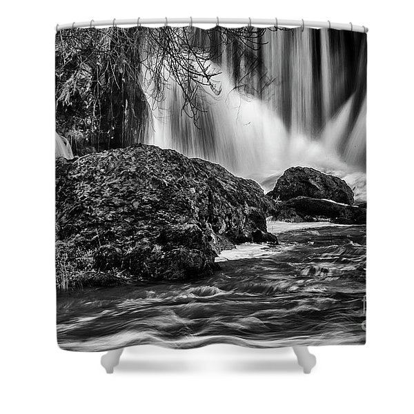 Tumwater Falls Park#1 Shower Curtain