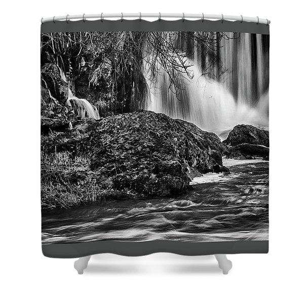 Tumwater Falls Park#1 Shower Curtain