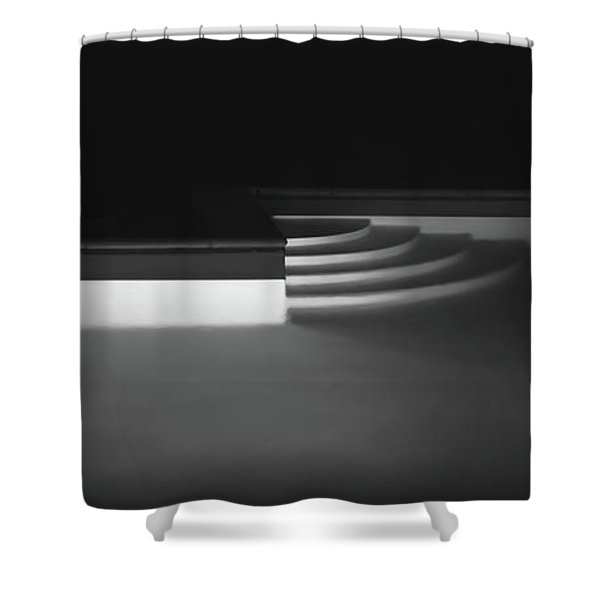 Tuscan Pool Shower Curtain