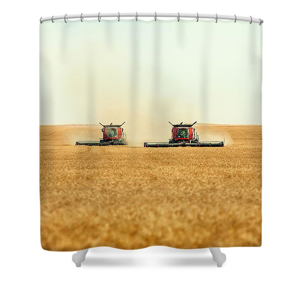 Twin Combines Shower Curtain
