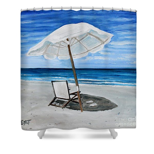 Under The Umbrella Shower Curtain