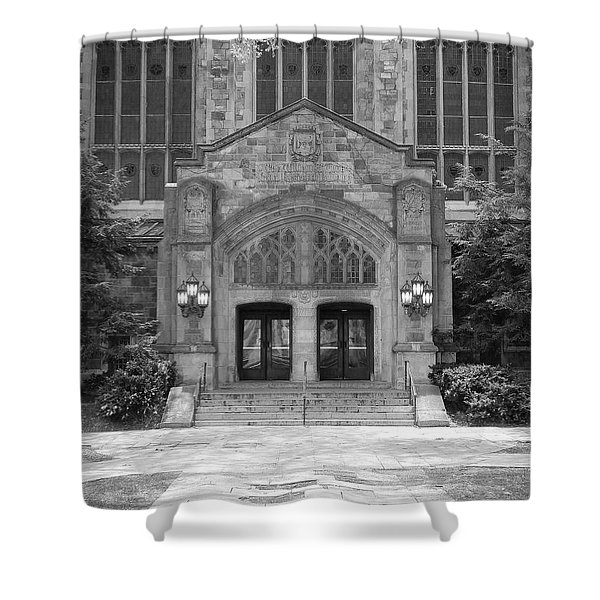 University Of Michigan Law Quad Shower Curtain