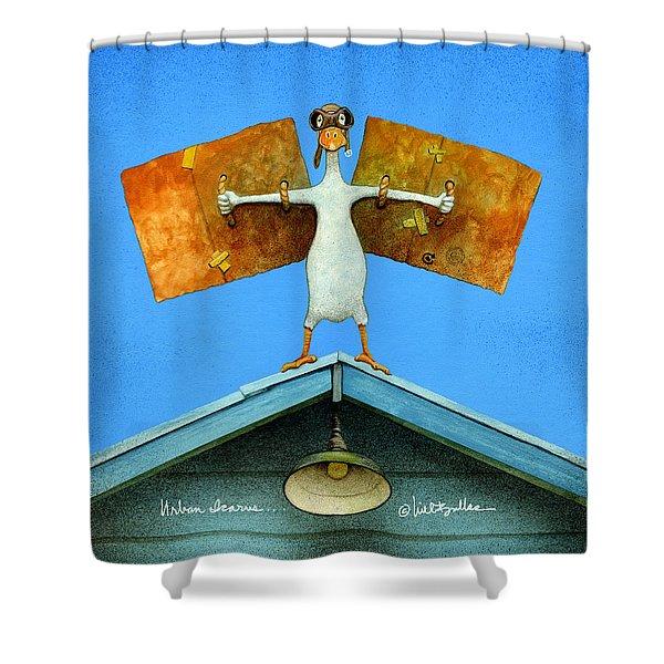 Urban Icarus... Shower Curtain