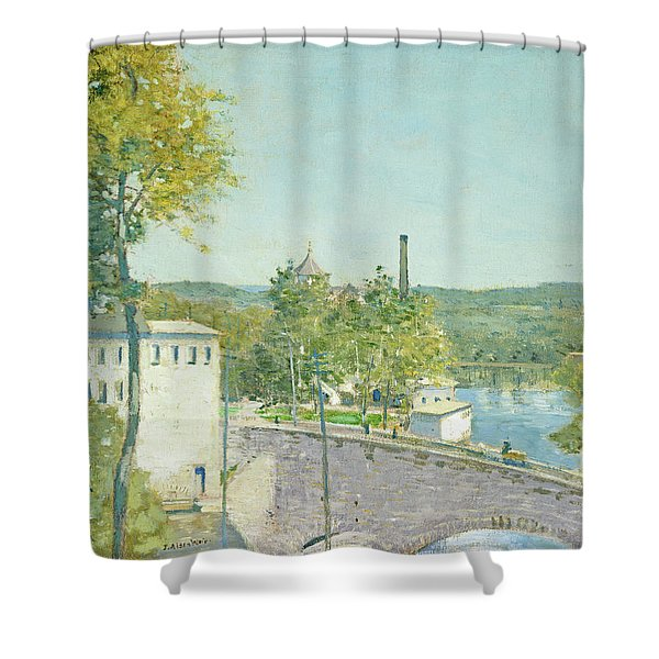 U.s. Thread Company Mills, Willimantic, Connecticut Shower Curtain