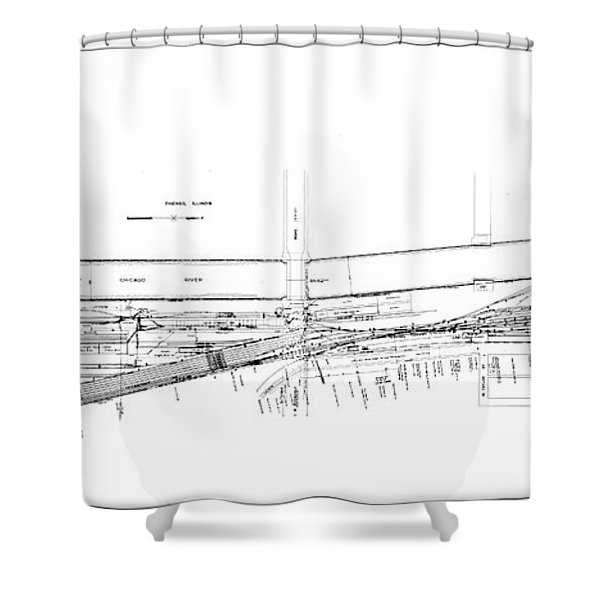 Valuation Map Boct Shower Curtain