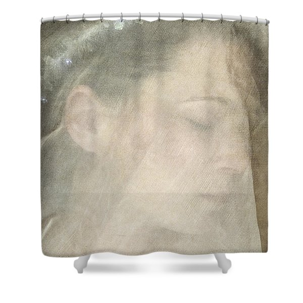 Veiled Princess Shower Curtain