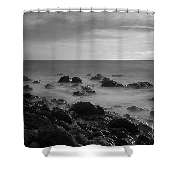 Ventnor Coast Shower Curtain